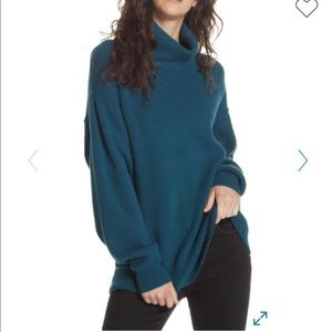 Free people Softly Structured Knit Turtleneck